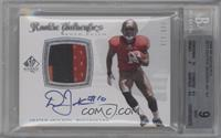 Rookie Authentics Auto Patch - Dexter Jackson /999 [BGS 9]