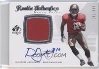 Rookie Authentics Auto Patch - Dexter Jackson /999
