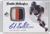 Rookie Authentics Auto Patch - Earl Bennett /999