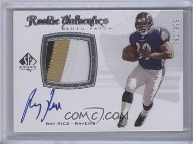 2008 SP Authentic #285 - Ray Rice /999