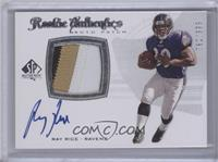 Rookie Authentics Auto Patch - Ray Rice /999
