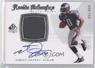 2008 SP Authentic #290 - DeSean Jackson /999