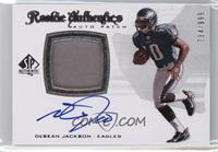 Rookie Authentics Auto Patch - DeSean Jackson /999