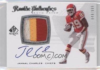 2008 SP Authentic #293 - Jamaal Charles /999