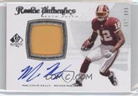 Rookie Authentics Auto Patch - Malcolm Kelly /999