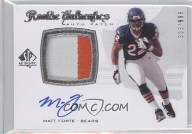 2008 SP Authentic #298 - Matt Forte /999