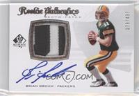 Rookie Authentics Auto Patch - Brian Brohm /499
