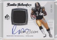 Rookie Authentics Auto Patch - Rashard Mendenhall /499
