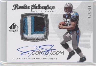 2008 SP Authentic #305 - Rookie Authentics Auto Patch - Jonathan Stewart /499