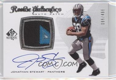 2008 SP Authentic #305 - Rookie Authentics Auto Patch - Jonathan Stewart /499