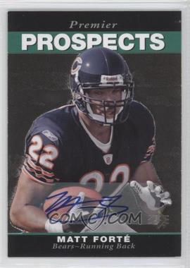 2008 SP Rookie Edition - [Base] - Autograph [Autographed] #269 - Matt Forte