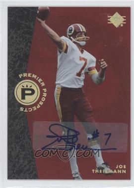 2008 SP Rookie Edition - [Base] - Autograph [Autographed] #372 - Joe Theismann