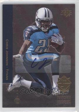 2008 SP Rookie Edition Autograph [Autographed] #209 - Chris Johnson
