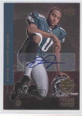 2008 SP Rookie Edition Autograph [Autographed] #214 - DeSean Jackson