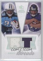 Ray Rice, Chris Johnson /99