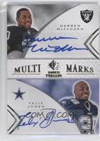 Darren McFadden, Felix Jones /55