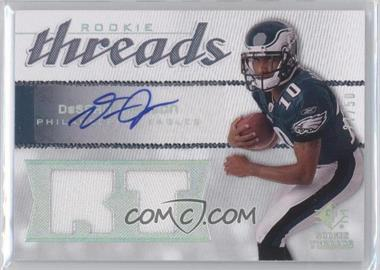 2008 SP Rookie Threads Rookie Threads RT Pattern Autographs [Autographed] #RT-DJ - DeSean Jackson /50
