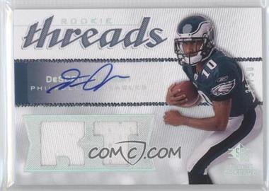 2008 SP Rookie Threads Rookie Threads RT Pattern Autographs [Autographed] #RT-DJ - DeSean Jackson /50