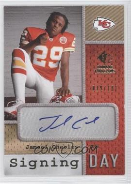 2008 SP Rookie Threads Signing Day #SD-JC - Jamaal Charles /131
