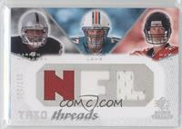 Jake Long, Darren McFadden, Matt Ryan /100