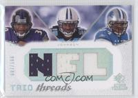 Ray Rice, Chris Johnson, Kevin Smith /100