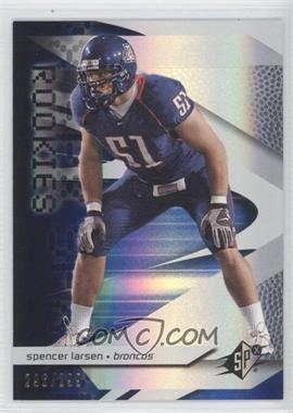 2008 SPx - [Base] - Rookies Blue #94 - Spencer Larsen /299