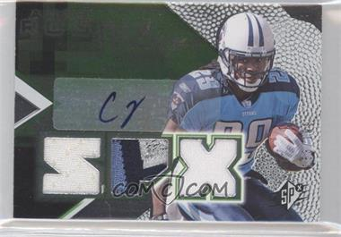 2008 SPx - [Base] - Rookies Green #153 - Chris Johnson /199