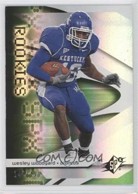 2008 SPx Rookies Green #131 - Wesley Woodyard /499