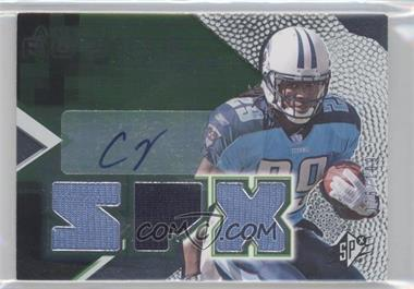 2008 SPx Rookies Green #153 - Chris Johnson /199