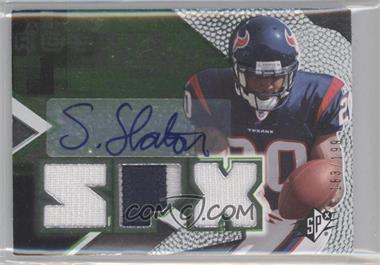 2008 SPx Rookies Green #76 - Steve Slaton /199