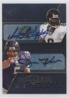 David Garrard, Joe Flacco /75