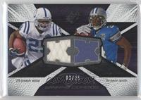 Joseph Addai, Kevin Smith /25