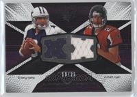 Tony Romo, Matt Ryan /25