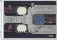 Kevin Smith, Steve Slaton, Ray Rice /49