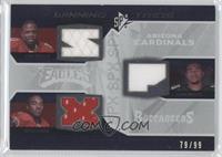 Early Doucet, Dexter Jackson, DeSean Jackson /99