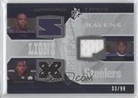Ray Rice, Rashard Mendenhall, Kevin Smith /99