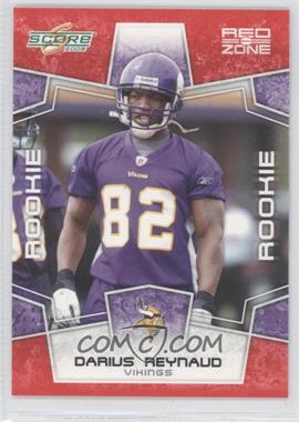 2008 Score Red Zone #436 - Darius Reynaud /100