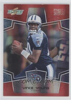2008 Score Select - [Base] - Red Zone #314 - Vince Young /30