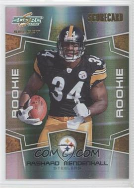 2008 Score Select - [Base] - Scorecard #347 - Rashard Mendenhall /100