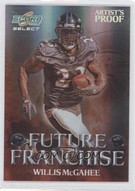 2008 Score Select - Future Franchise - Artist's Proof #FF-21 - Willis McGahee /32
