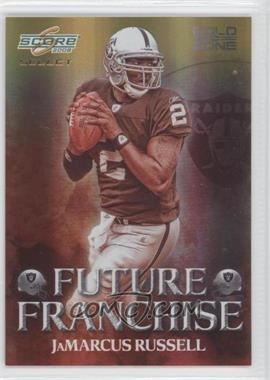 2008 Score Select - Future Franchise - Gold Zone #FF-1 - JaMarcus Russell /50
