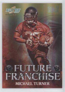2008 Score Select - Future Franchise - Gold Zone #FF-14 - Michael Turner /50