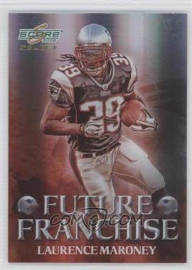 2008 Score Select - Future Franchise #FF-9 - Laurence Maroney /999