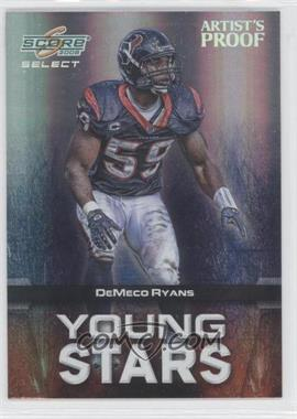 2008 Score Select - Young Stars - Artist's Proof #YS-18 - DeMeco Ryans /32
