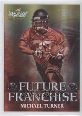 2008 Score Select Future Franchise Gold Zone #FF-14 - Michael Turner /50