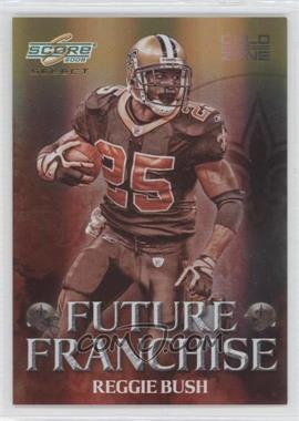 2008 Score Select Future Franchise Gold Zone #FF-17 - Reggie Bush /50