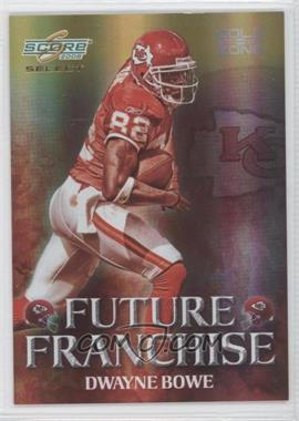 2008 Score Select Future Franchise Gold Zone #FF-8 - Dwayne Bowe /50