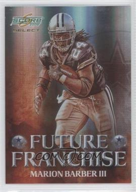 2008 Score Select Future Franchise #FF-10 - Marion Barber III /999