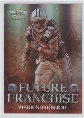 2008 Score Select Future Franchise #FF-10 - Marion Barber III /999