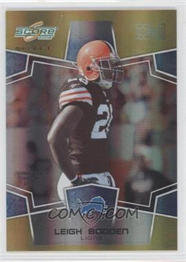 2008 Score Select Gold Zone #75 - Leigh Bodden /50